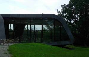 2005 fick Ordrupgaard en ny museibyggnad ritad av Zaha Hadid.
