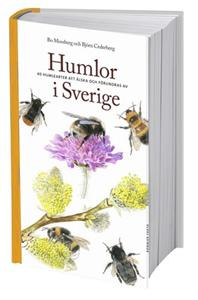 Boken beskriver ingående livet för de 40 svenska arterna av humlor.