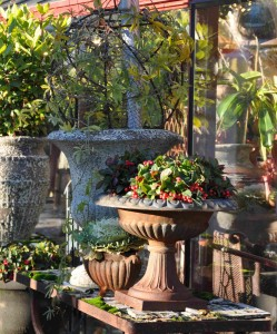 Julutställningen hos Ingvar Strandhs är ett årligt nöje för floristintresserade.