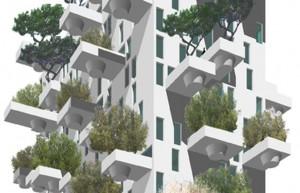 Höghus med grönskande balkonger planeras att uppföras i Valencia, Spanien.