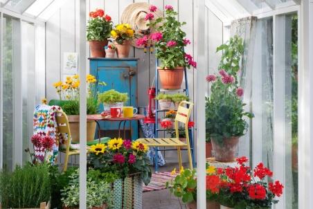 Inredda trädgårdsrum med ätliga växter blir en kommande trend.