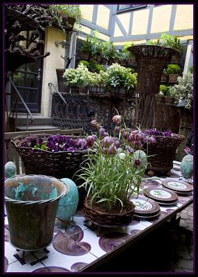 Butiken i Köpenhamn är ett upplevelserum för blomsterkonstnärer.