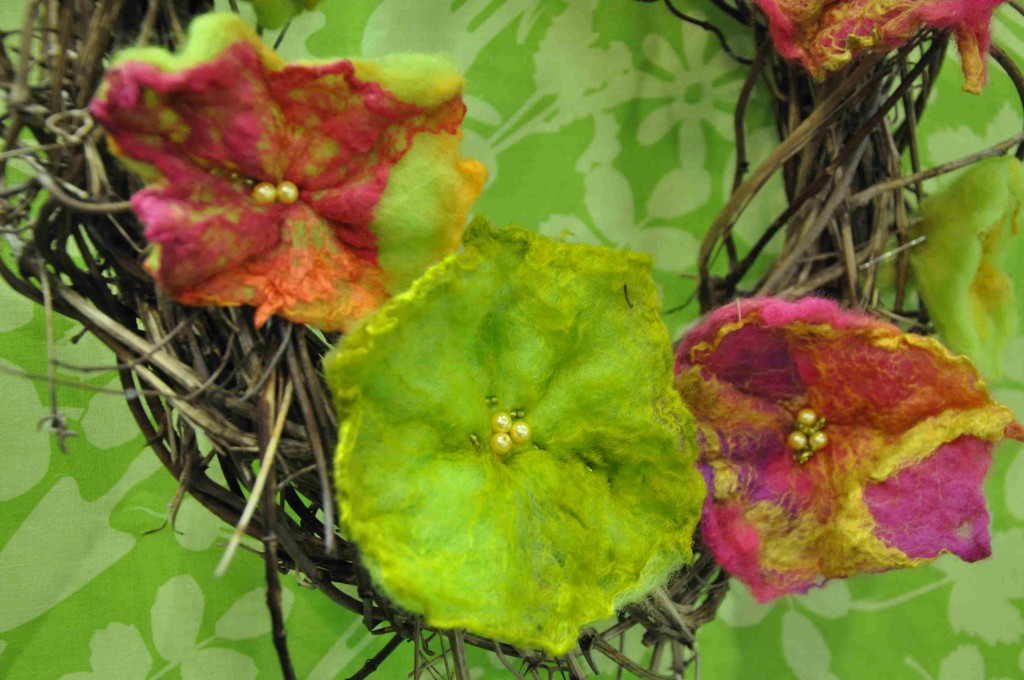 Tovade blomster är också stor trädgårdskonst.
