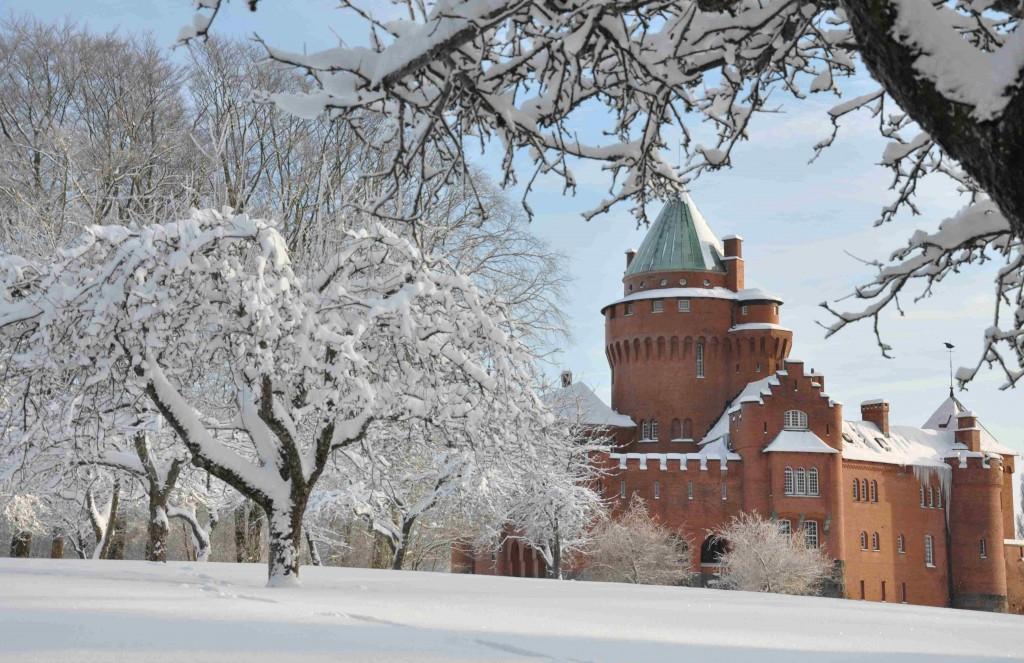 Slottet har blivit en turistattraktion sedan det var med i TV:ns julkalender första gången 1996.