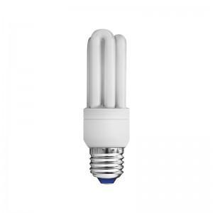 En lågenergilampa i kontaktlysrör fungerar bra som växtbelysning.